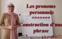 Apprendre le turc *** Leçon N09: Les pronoms personnels // Construction d'une phrase !!!