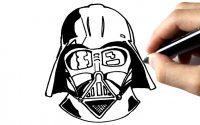 Comment dessiner Dark Vador (STAR WARS) TUTORIEL