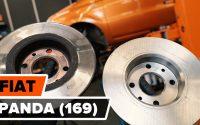 Comment remplacer des disques de frein avant sur FIAT PANDA (169) [TUTORIEL AUTODOC]