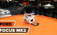 Comment remplacer des vanne EGR sur FORD FOCUS MK2 Berline [TUTORIEL AUTODOC]