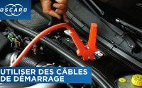 Comment utiliser des câbles de démarrage ? - Tutoriel Oscaro