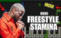 Dinos - Freestyle Stamina   Vidéo Piano Tutoriel Facile Instrumental RAP (Piano Facile France)