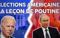 Élections américaines : Poutine donne une leçon de démocratie ! (+ relations franco-russes)