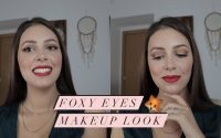 Foxy Eyes Makeup look / Tutoriel simple pour maquillage Foxy eyes