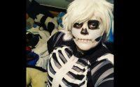 Halloween Cosplay special - Kinda skeleton make-up tutoriel?