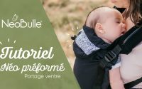 [PORTAGE] Tutoriel - Porte bébé Néo - Installation du bébé / Portage devant