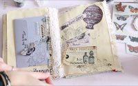 Tutoriel DIY Junk Journal Créatif Swirlcards par Mary
