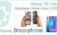 Tutoriel Honor 10 Lite : changer l'écran (vitre + LCD)