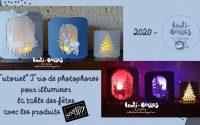 *Tutoriel* Trio de photophores pour illuminer la table des fêtes avec les produits Stampin' Up!