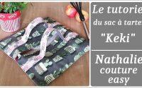 Tutoriel du sac à tartes/ nathalie couture easy/ tutoriel couture/ DIY