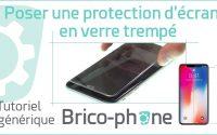 Tutoriel générique : Poser une protection d'écran en verre trempé