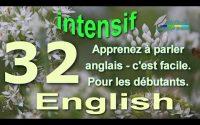 Сonversation anglaise pour débutants - English conversation for beginners. Intensif YouTube Leçon 32