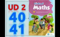 Archipel Maths 6AEP leçon 13 situation (1) p 40 41