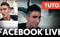 COMMENT FAIRE UN LIVE FACEBOOK – #Tutoriel