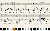 Ça, bergers, assemblons-nous - partition et tutoriel pour piano