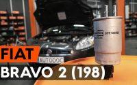 Changer un filtre à carburant sur FIAT BRAVO 2 (198) [TUTORIEL AUTODOC]