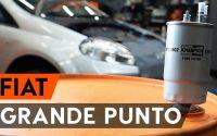 Changer un filtre à carburant sur FIAT PUNTO 199 [TUTORIEL AUTODOC]
