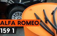 Comment remplacer des essuie-glaces sur ALFA ROMEO 159 1 (939) [TUTORIEL AUTODOC]