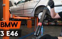 Comment remplacer un amortisseur arrière sur BMW 3 (E46) [TUTORIEL AUTODOC]