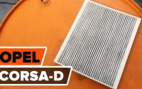 Comment remplacer un filtre d'habitacle sur OPEL CORSA D [TUTORIEL AUTODOC]