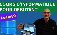 Cours Informatique leçon N°9 désinstaller une application