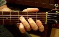 Cours de guitare, 2e leçon : Do, Fa et Sol majeurs