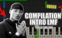 Freeze Corleone - LMF Compil Intro | Piano Tutoriel Facile Instrumental RAP (Piano Facile France)