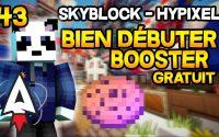 Hypixel Skyblock - Bien débuter #43 - Booster gratuit ! - Tutoriel, Guide | Alvegar