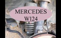 Mercedes W124 - Tutoriel comment démonter le ressort de supension de votre voiture