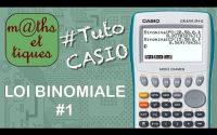 PROBA : Calculer une probabilité pour une loi binomiale - Tutoriel CASIO