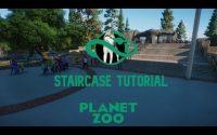Planet Zoo - STAIRCASE TUTORIAL I TUTORIEL ESCALIER