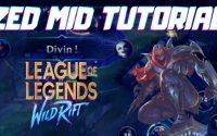 TROUVE TON MAIN #5 : ZED MID TUTORIEL FR [ LoL Wid Rift ]