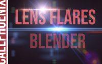 🇫🇷🎥️🎞️🎛️🚀️ TUTORIEL - VFX - Lens flare avec Blender partie 1 - Effets spéciaux appliqués à 1 vidéo !