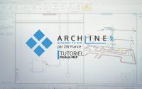 Tutoriel ARCHLine XP 2020 - Module MEP