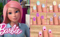 Tutoriel DIY Nail Art Designs (5 idées faciles!)   Vlogs de Barbie   @Barbie Français