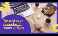 Tutoriel: rejoindre un cours en ligne (Classes prépa)
