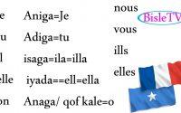 baro luuqada faransiiska. pronom personnel  Leçon 2
