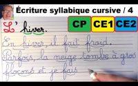 Cours leçon de français : bien écrire les mots en cp ce1et ce2 # 4