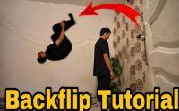 Backflip Tutoriel:تعلم تشقلب في المنزل