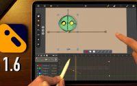 CALLIPEG 1.6 : Nouveautés pour l'animation sur iPad   Keyframes, HEVC, clavier,... (Tutoriel)