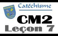 CM2 leçon 7
