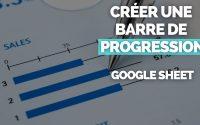 Comment Créer une 📊 Barre de Progression Google Sheet 📊 ? [TUTORIEL SPARKLINE]