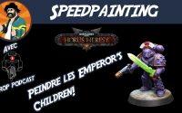 Comment peindre les Emperor's Children - Chronique de l'Hérésie - Tutoriel peinture sur figurines