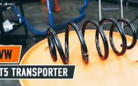 Comment remplacer ressort de suspension avant sur VW T5 TRANSPORTER Van [TUTORIEL AUTODOC]