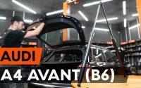 Comment remplacer verin de coffre sur AUDI A4 B6 (8E5) [TUTORIEL AUTODOC]