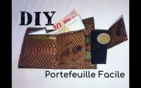 Coudre un Portefeuille Facile - Tutoriel Couture et DIY