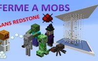 Ferme à mobs - Usine à  créatures agressives - SANS REDSTONE 🛠 Minecraft Java 🛠 Tutoriel