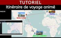 Itinéraire de voyage animé - Tutoriel Magix Vidéo Deluxe 2014