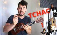 Le «Chuck» au ukulélé (rythme percussif) tutoriel français
