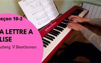 [Leçon 10-2] La lettre à Elise_Ludwig V.Beethoven_
